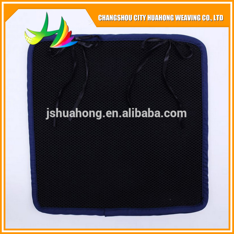 Black 3D mesh fabric 3D Mattress Office cushion,OEM processing