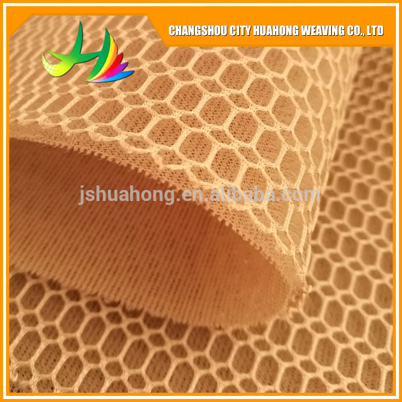 Hexagon 3D air layer,Color fastness 4, sunshine 120 hours
