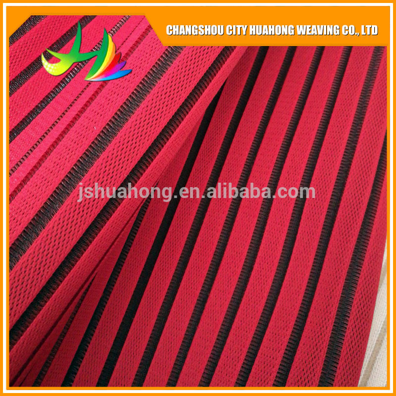 Color sandwich 3D air fabric for beach chairs,eyelet fabric,pollution -free and environmental protection