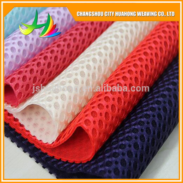 3D 100% polyester mesh fabric, Factory direct salesair mesh fabric