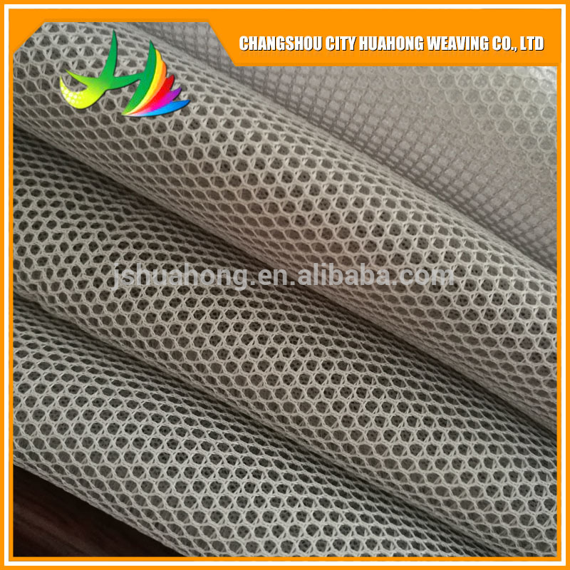 3D mesh polyester air mesh fabric for shoes and suitcase