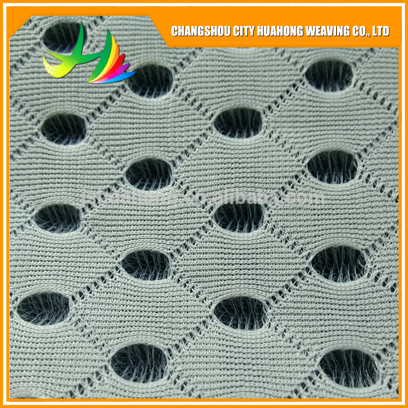 4D air mesh black and white,eyelet fabric