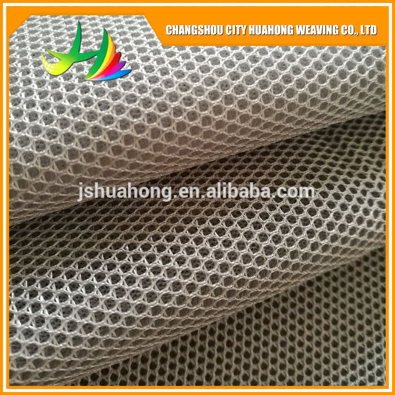 eyelet fabric,3d polyester air mesh fabric ,spandex spacer lycra sandwich air mesh