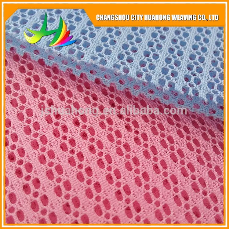Popular 100 Polyester 3D Spacer Mesh ,eyelet fabric