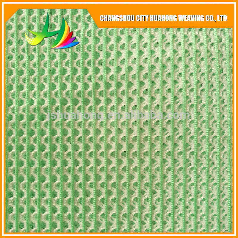Skirt of the 3D air layer,Anti-bacteria,Popular 100 Polyester 3D Spacer Mesh Fabric for shoes