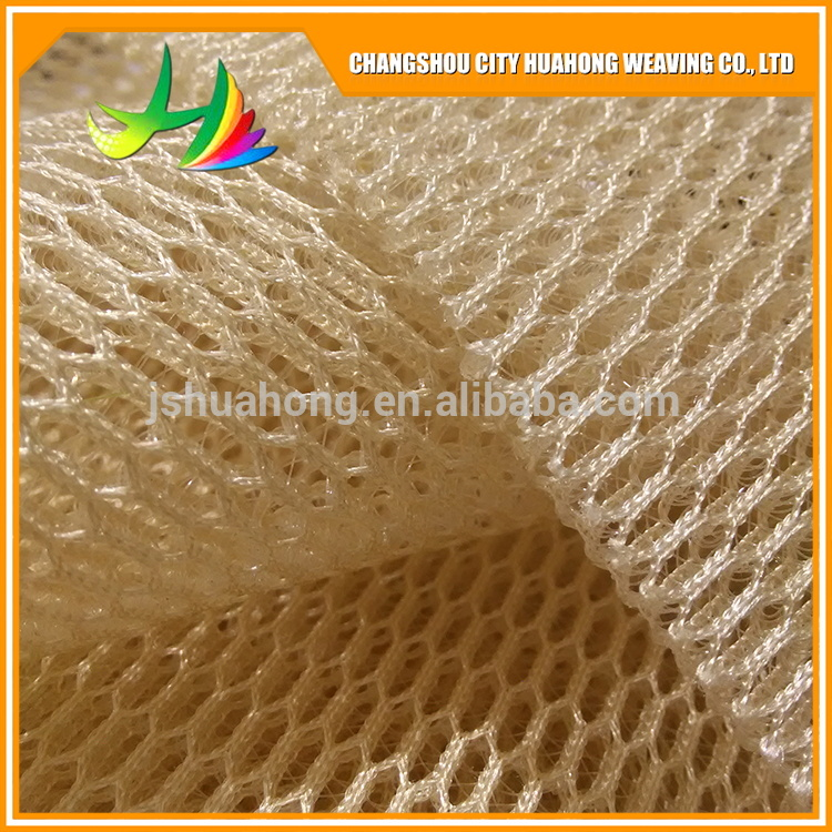 Tatami air layer, polyester fiber 3D mesh,mesh fabric eco friendly