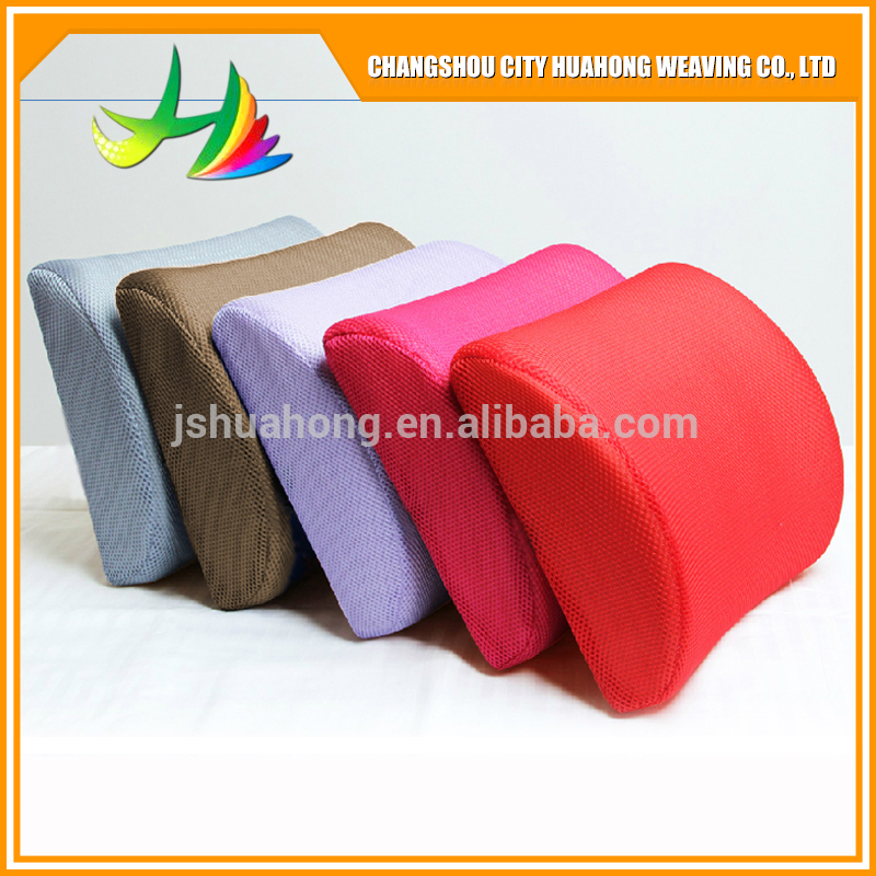 3D air mesh fabric car wasit support seat cushion 3D air layer home textile OEM