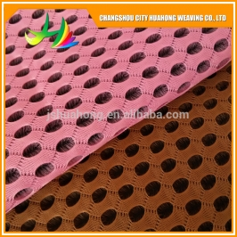 Red 4D air mesh black and white,polyester mesh fabric for home textile