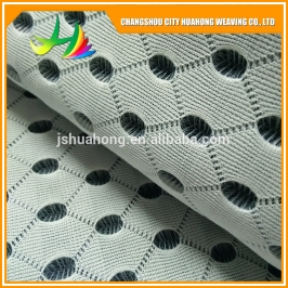 4D air mesh black and white, fashion dryed 3d air mesh,motorcycle seat cover