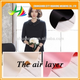 soft 3D air layer,Wholesale 94% polyester 6% spandex spacer scuba mesh fabric for textiles