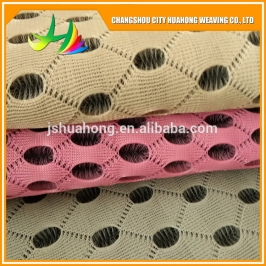 4D air mesh black and white,eyelet fabric,double color sandwich mesh fabric