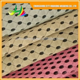 4D air mesh black and white,mesh fabric eco friendly