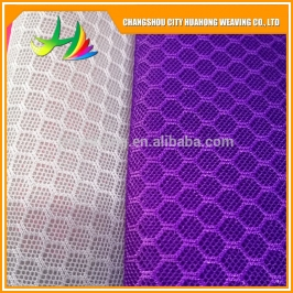 3D New Style Last Custom 6Mm Polyester Sports Spacer Air Tricot Mesh Sports Fabric