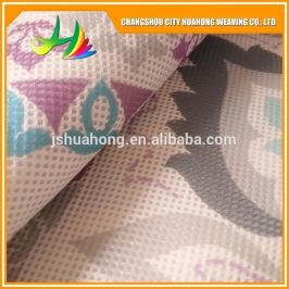 张家港polyester mesh fabric for laundry bag, placemat and baby strollers