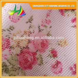 printed cloth warp mesh,fabric wholesale,polyester net